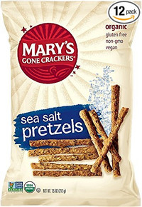 Pretzels Everything 12 of 7.5 OZ By MARY`S GONE CRACKERS