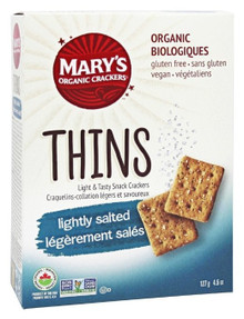 Thins Lightly Salted 6 of 4.5 OZ By MARY`S GONE CRACKERS