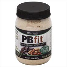 PBfit Choc Peanut Butter Powder 6 of 8 OZ By BETTER BODY