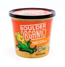 Green Chile Corn Chowder 8 of 24 OZ By BOULDER ORGANIC