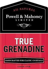 True Grenadine 6 of 12.68 OZ By POWELL & MAHONEY LIMITED