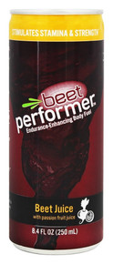 Beet Juice w/Passion Fruit 12 of 8.4 OZ By BEET PERFORMER