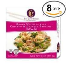 Broad Noodles Chicken/Broc GF 8 of 9 OZ By FEEL GOOD FOODS