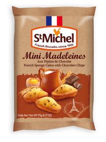 Mini Madeleine Au Chocolat 12 of 6.17 OZ By ST MICHEL