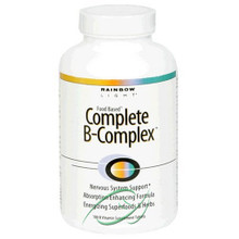 Complete B-Complex 180 Tablets From Rainbow Light