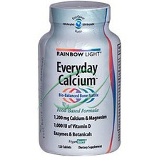 Everyday Calcium 120 Tablets From Rainbow Light