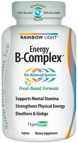 Energy B-Complex 90 Tablets From Rainbow Light