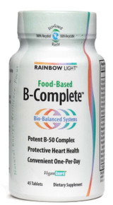 B-Complete Vegetarian Vitamin B Complex 45 tabs Rainbow Light
