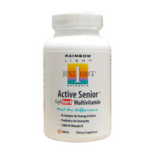 Active Senior Safeguard Multivitamin Iron-Free 30 tabs Rainbow Light