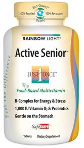 Active Senior Safeguard Multivitamin 90 Tablets From Rainbow Light