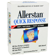 Allerstan Quick Response 30 Tablets From Rainbow Light