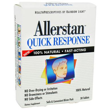 Allerstan Quick Response 30 Tablets From Rainbow Light
