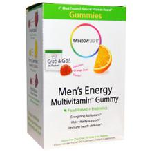 Men's Energy Multivitamin Gummies 30 PKT By Rainbow Light