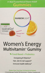Women's Energy Multivitamin Gummies 30 PKT By Rainbow Light