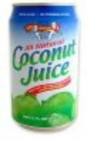 Coconut Juice, 24 of  10 OZ, Amy & Brian