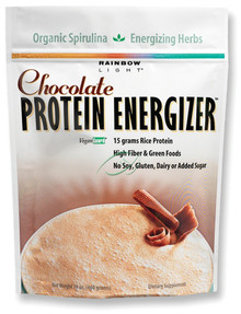 Protein Energizer Rich Chocolate 16.2 oz From Rainbow Light