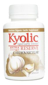 Kyolic Reserve A.G.E Aged Garlic Extract 600mg 60 caps Wakunaga Kyolic