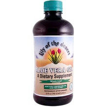 Whole Leaf Aloe Vera Gel 32 oz 1 Quart From Lily of the Desert