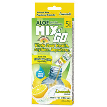 Aloe Mix N Go Lemonade 5 CT By Lily Of The Desert