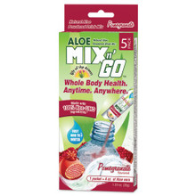 Aloe Mix N Go Pomgranate 5 CT By Lily Of The Desert