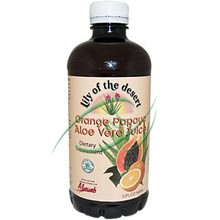 Orange Papaya Aloe Vera Juice 32 fl oz (946 ml) From Lily of the Desert