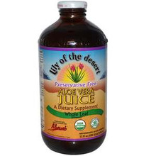 Aloe Vera Juice Whole Leaf 32 fl oz (946 ml) From Lily of the Desert