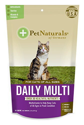 Daily Multi For Cats 30 CHEW By Pet Naturals Of Vermont