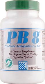 PB 8 Pro-Biotic Acidophilus 120 CapsulesVEGI  From Nutrition Now