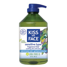 Bath & Body Wash Sensitive Type 32 OZ By Kiss My Face