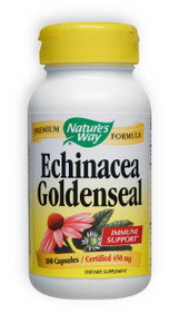 Echinacea Goldenseal Combo 450mg 100 Capsules Nature's Way