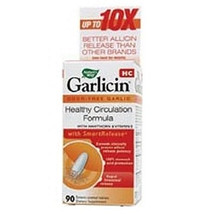 Garlicin Cholesterol Control 90 Tablets Nature's Way