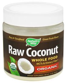 Nature's Way Raw Coconut Whole Food Organic 16oz