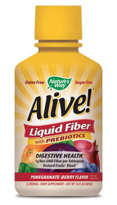 Alive! Liquid Fiber Pomegranate Berry 16 OZ By Nature'S Way