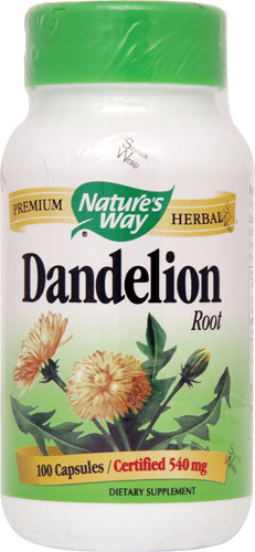 Dandelion Root 100 Capsules  From Nature'S Way