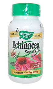 Echinacea Herb 100 Capsules From Nature's Way