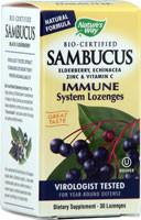 Sambucus Immune System Lozenges 30 Lozenges From Nature's Way