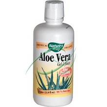 Aloe Vera Gel & Juice 33.8 oz (1 Liter) From Nature's Way