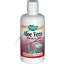 Aloe Vera Wild Berry Flavor 33.8 fl oz (1 Liter) From Nature's Way