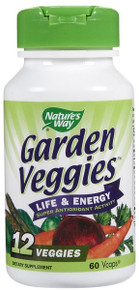 Garden Veggies 60 Vcaps From Nature's Way