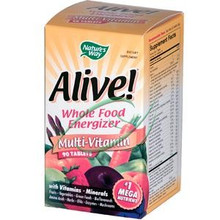 Alive Multi-Vitamin 90 Tablets From Nature's Way