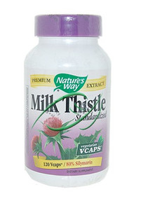 Milk Thistle 120 Vcaps From Nature's Way