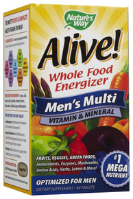 Alive Men 90 tabs From Nature's Way