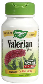 Valerian Root 100 Capsules From Nature's Way