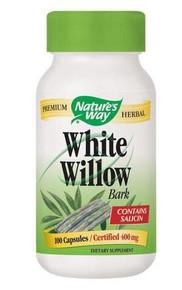 White Willow Bark 400 mg 100 Capsules From Nature's Way