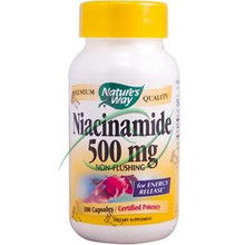 Niacinamide 500 mg 100 Capsules From Nature's Way