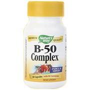 Vitamin B-50 Complex 60 Capsules Nature's Way
