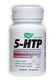5-HTP with Vitamin B6 & C 30 tabs from Nature's Way