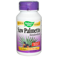 Standardized Saw Palmetto 160 mg 60 Softgels From Nature's Way