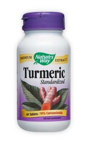 Turmeric Extract Standardized 60 tabs from Nature's Way