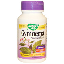Standardized Gymnema 260 mg 60 Capsules From Nature's Way